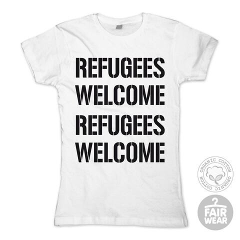 √Refugees Welcome von Deichkind - Girlie Shirt jetzt im Deichkind Shop