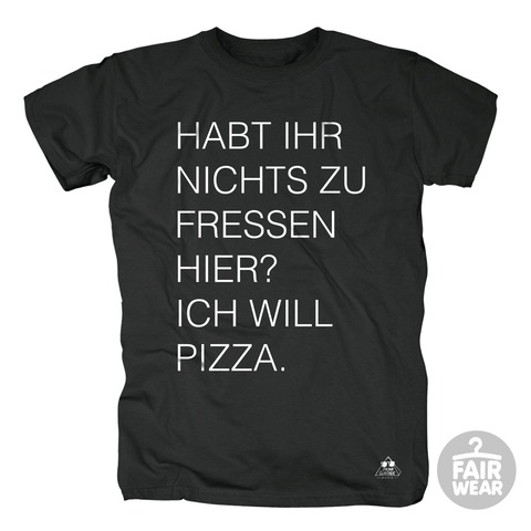√Ich will Pizza von Deichkind - T-Shirt jetzt im Deichkind Shop