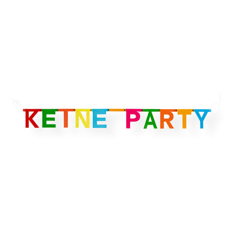 √Keine Party Girlande von Deichkind - Girlande jetzt im Deichkind Shop