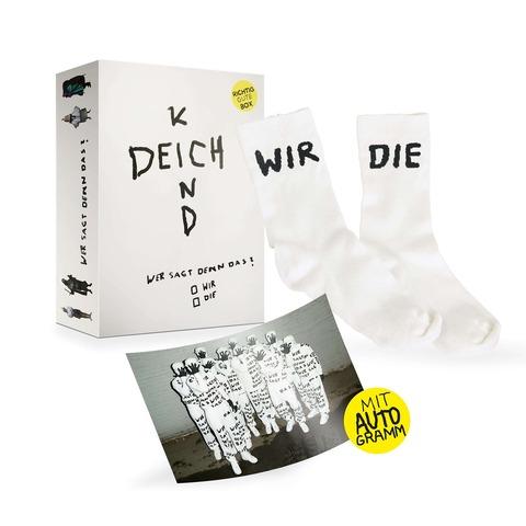 √Wer Sagt Denn Das? (Ltd. RGZ Bundle 2: Richtig Gute Box + Socken + Autogrammkarte) von Deichkind - Box set jetzt im Deichkind Shop